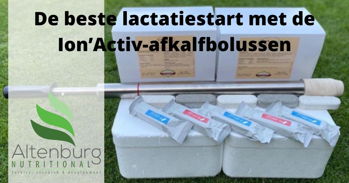 De Beste Lactatiestart Met De Ion'Activ-afkalfbolussen